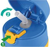 Thermos Fogoo - kojenecká termoska - otevření