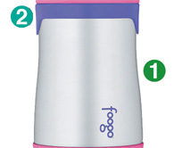 Thermos Fogoo - kojenecká termoska - tělo