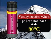 Thermos - outdoorová termoska isolační výkon