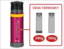 Thermos - outdoorová termoska hmotnost