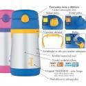 Kojenecká termoska - modrá