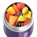 Dětská termoska na jídlo - fialová