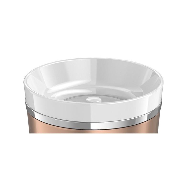 Tlačítkový uzávěr pro vodotěsný termohrnek - bílá