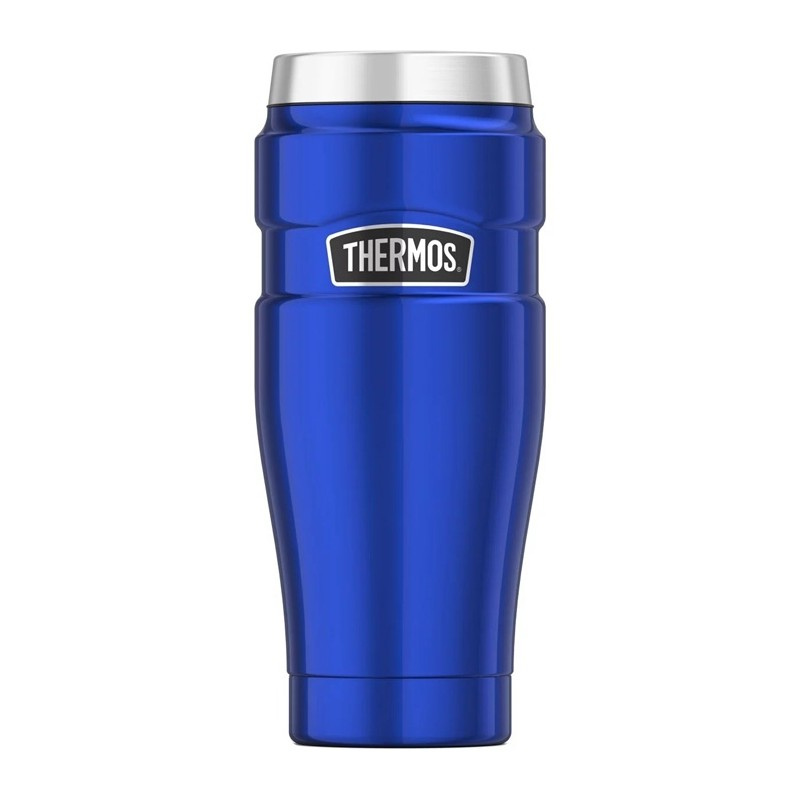 Vodotěsný termohrnek - modrá