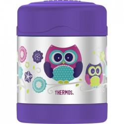 Dětská termoska na jídlo - sova