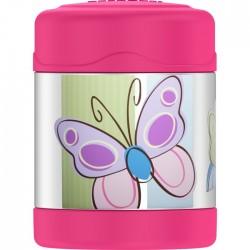 Dětská termoska na jídlo - motýl