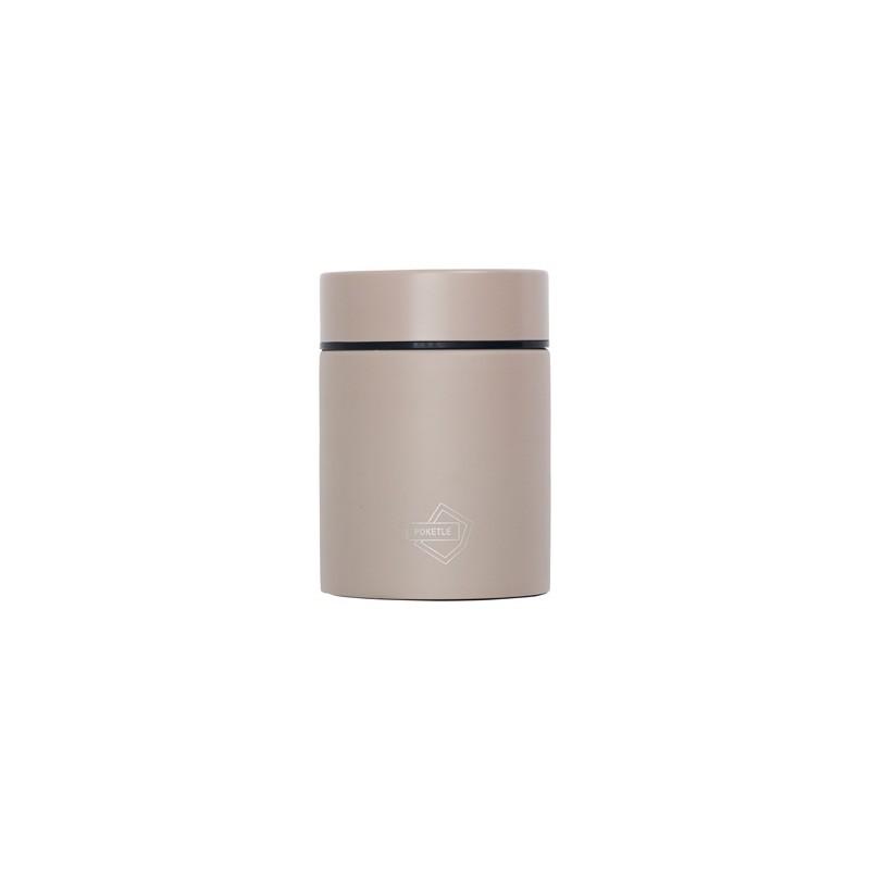 Kapesní termoska na jídlo POKETLE - beige