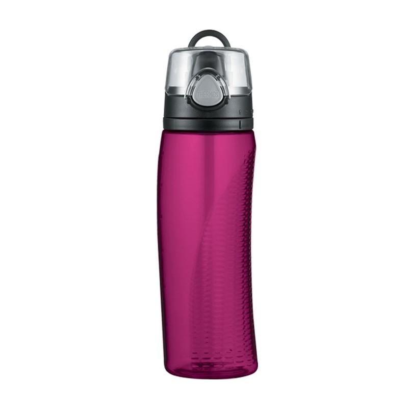 Hydratační láhev s počítadlem - purpurová