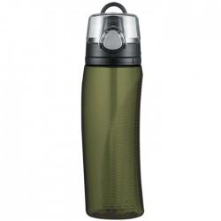 Hydratační láhev s počítadlem - olivově zelená