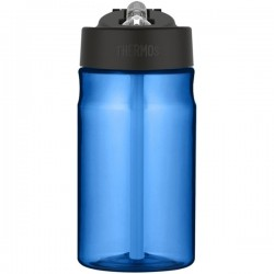 Dětská hydratační láhev s brčkem - světle modrá