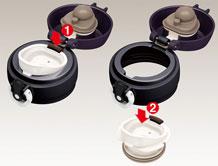 Thermos Versatile - Termoska na kolo - údržba